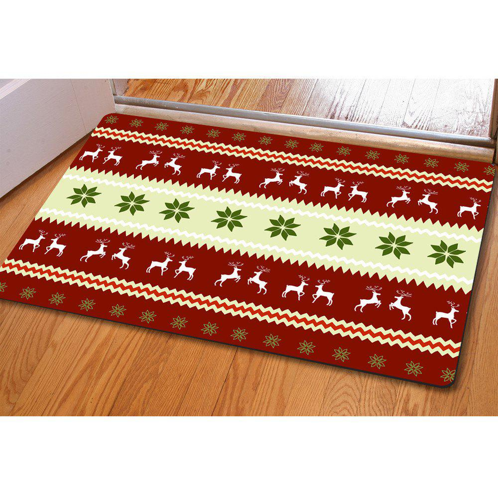 Doormat Anti Slip Entry Way Floor Mat for Bathroom Bedroom Kitchen Living Room Water-absorbing Tapetes - COLORMIX