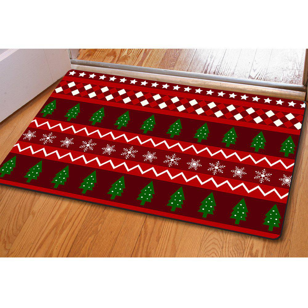 Doormat Anti Slip Entry Way Floor Mat for Bathroom Bedroom Kitchen Living Room Water-Absorbing Tapete - THE CHRISTMAS TREE