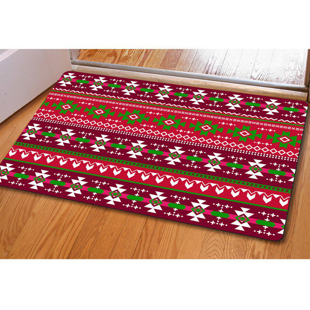 Doormat Anti Slip Entry Way Floor Mat for Bathroom Bedroom Kitchen Living Room Water-absorbing Tapetes - COLOR STRIPE