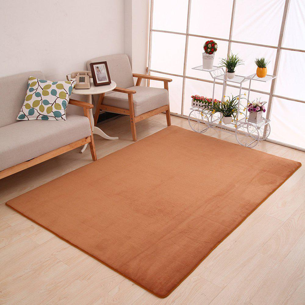 Doormat Modern Style Solid Water Proof Carpet. - KHAKI 80X120CM