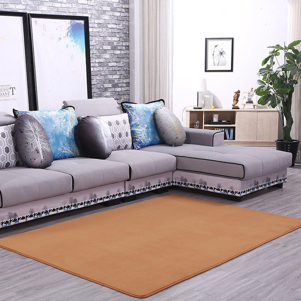 Doormat Modern Style Solid Water Proof Carpet. - KHAKI 50X80CM