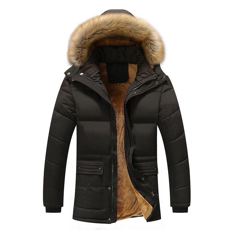 цены New Winter Coat and Cashmere Thick Cotton Padded Jacket