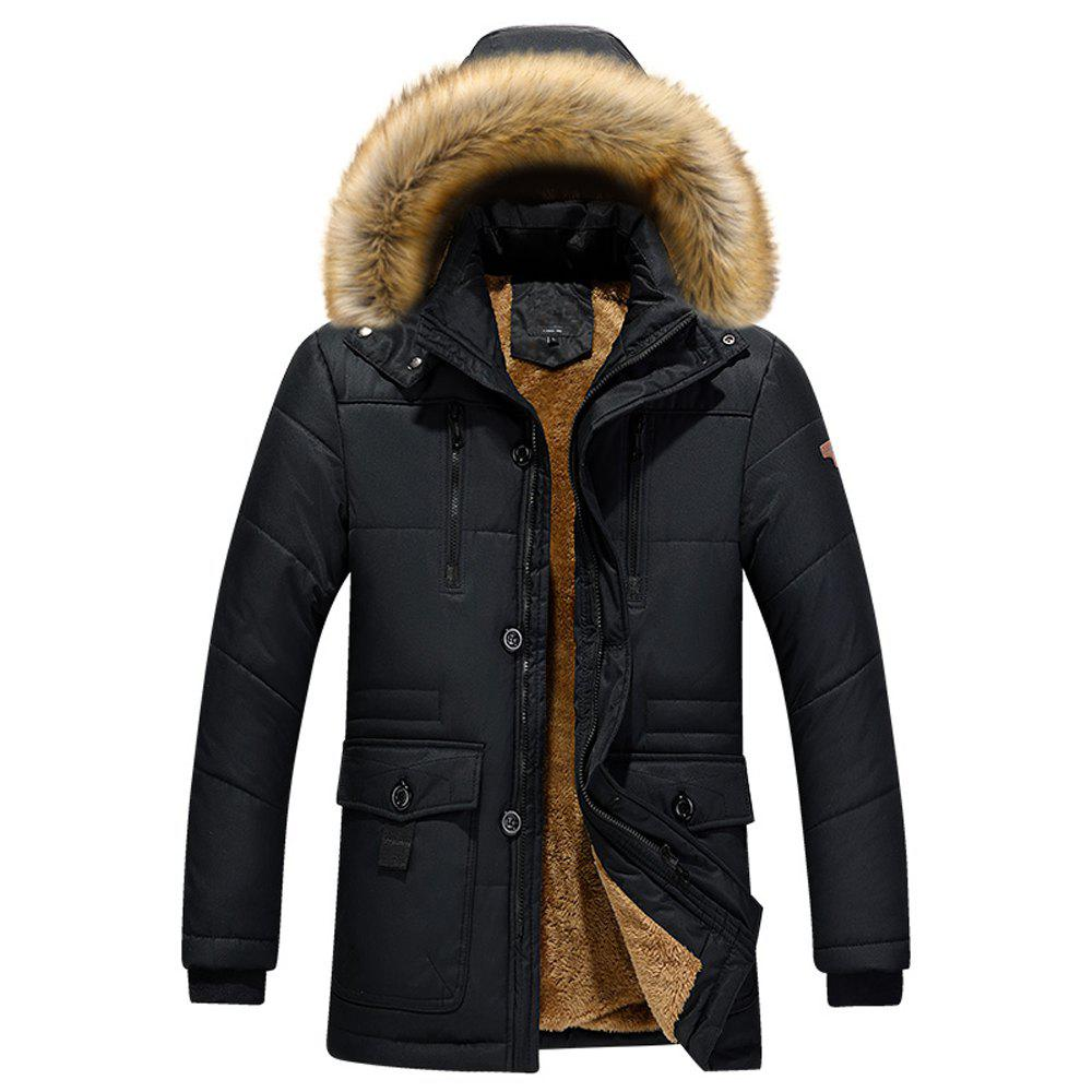 2018 Winter Thick Padded Winter Coat Loose Tide Size