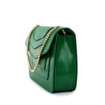 New Splicing Chain Women's Single Shoulder Slanted Slanted Crossbody Bag -  IVY