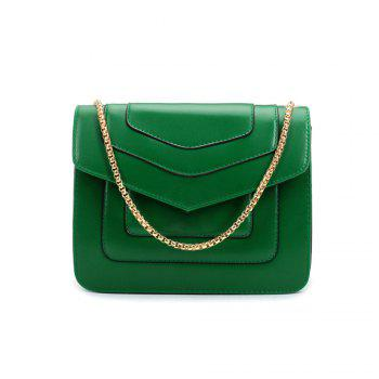 New Splicing Chain Women's Single Shoulder Slanted Slanted Crossbody Bag - IVY IVY