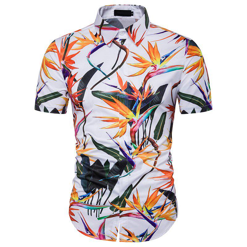 New Men'S Personality 3D Printing Short Sleeved Leisure Holiday Beach Shirt DC39 палатка holiday 3 кт3018