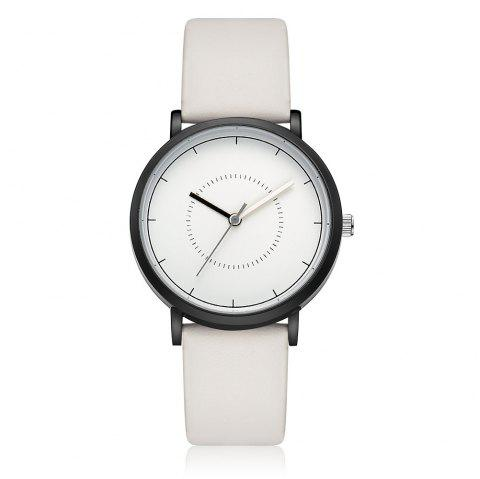 GAIETY G492 Men's Simple Fashion Watch - WHITE