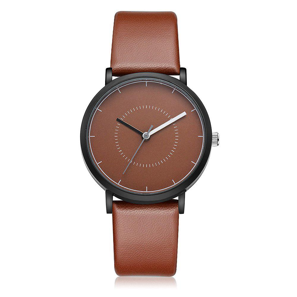 GAIETY G492 Men's Simple Fashion Watch - BROWN