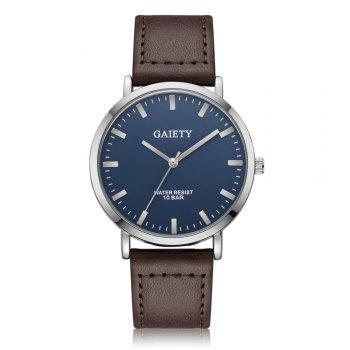 GAIETY G494 Men's Business Casual Watch - BROWN BROWN