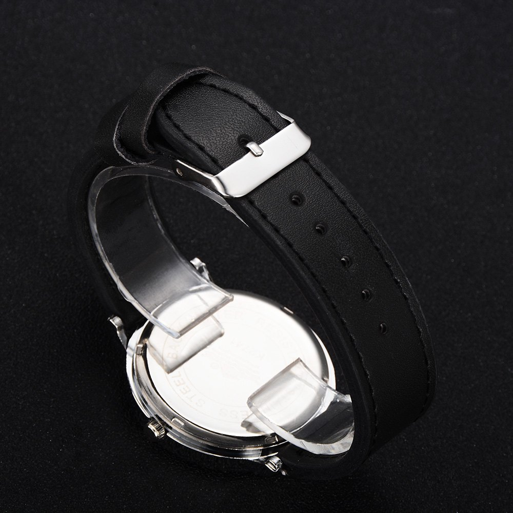 GAIETY G494 Men's Business Casual Watch - BLACK