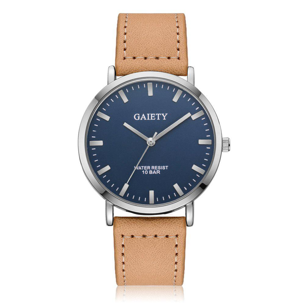 GAIETY G494 Men's Business Casual Watch - BEIGE
