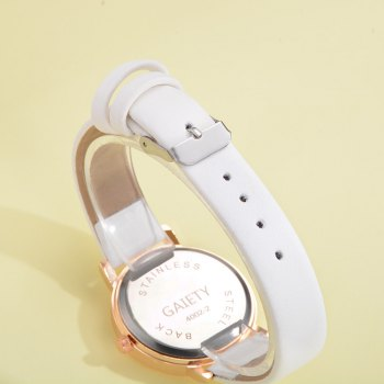 GAIETY G498 Multiple Colour Fashion Watch -  WHITE