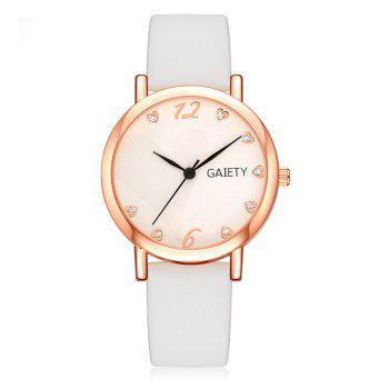 GAIETY G498 Multiple Colour Fashion Watch - WHITE WHITE