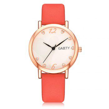 GAIETY G498 Multiple Colour Fashion Watch - RED RED