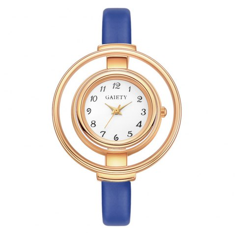GAIETY G467 Stylish Candy Color Watch - BLUE