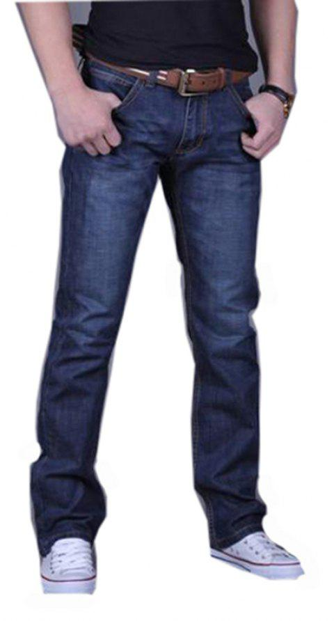 Men's Casual Work Sport Pure Pant Jeans - BLUE 29