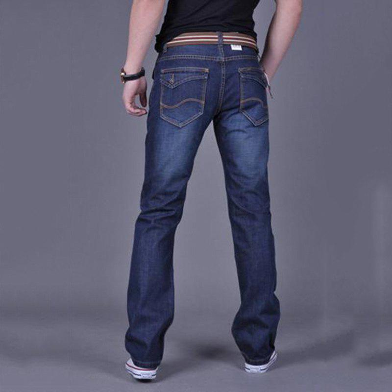 Men's Casual Work Sport Pure Pant Jeans - BLUE 31