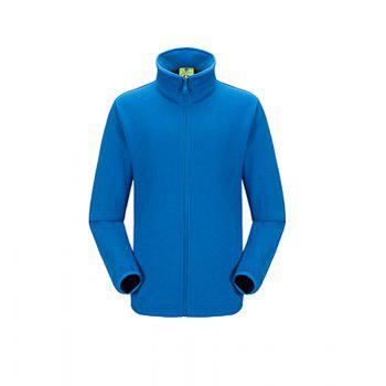 Winter Outdoor Clothing Andes Triple Three Sets of Windproof Breathable Sports Mountaineering Clothing - BLUE 2XL