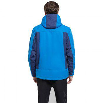 Winter Outdoor Clothing Andes Triple Three Sets of Windproof Breathable Sports Mountaineering Clothing - BLUE 4XL