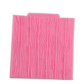 Facemile Tree Bark Line Texture Stripe Fondant Cake Mold Silicone Cake Lace Broder Mold For Kitchen Baking Decoration Tool - PINK PINK