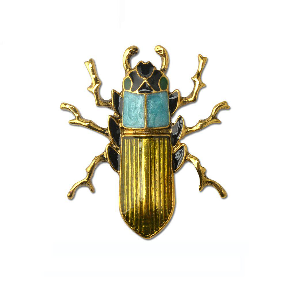 Blue Enamel Bug Beetle Insect Brooch Pin Costume Jewelry For Gift showcase presents blue beetle volume 1