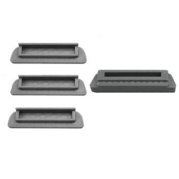 Drone Body and Battery Charging Port Protector Silicon for DJI MAVIC PRO - GRAY GRAY