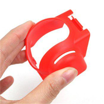Gimbal Camera Guard Lens Sun Hood Protector for DJI Mavic Pro - RED