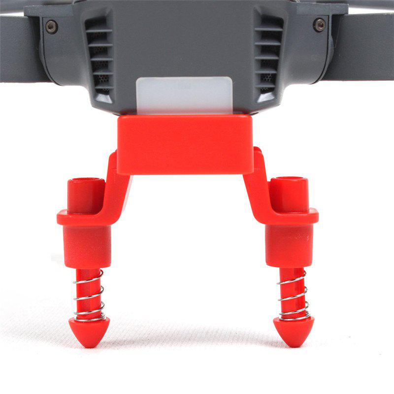 Heightened Shock-absorbing Landing Gear Stabilizers for DJI MAVIC PRO - RED