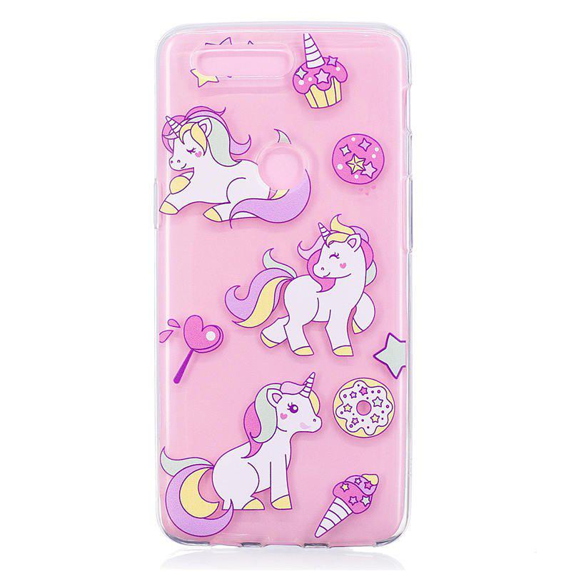 TPU Material Unicorn Pattern Painted Phone Case for OnePlus 5T - COLOUR