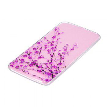 TPU Material Peach Pattern Painted Phone Case for OnePlus 5T - COLOUR