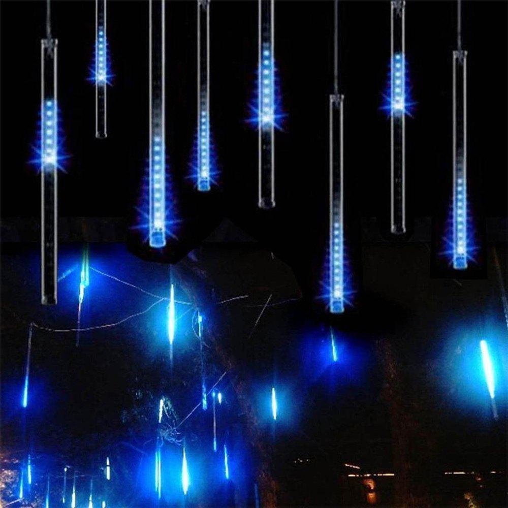 SUPli LED Meteor Shower Lights for Holiday Valentine Wedding Party Decoration usb 5m 50leds silver wire strip lights fairy christmas holiday wedding party 1pc