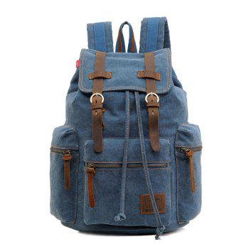 Fashion Men Vintage Canvas Backpack Girls School