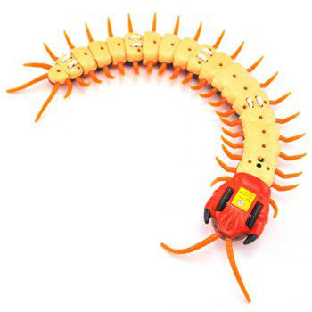 Remote Control Centipede Scolopendra Creepy-crawly Kids Toy Gift - ORANGE