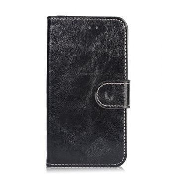 Case for Samsung Galaxy J5 2017 Leather Flip Cover for Samsung Galaxy J5 2017/SM-J530G/SM-J530F  Wallet Bags - BLACK
