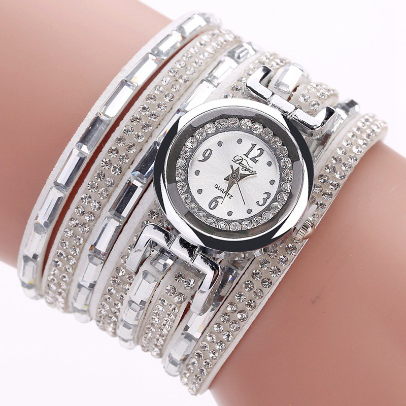 DUOYA D159 Bracelet Watch Women Watch Quartz Luxury Watch - WHITE