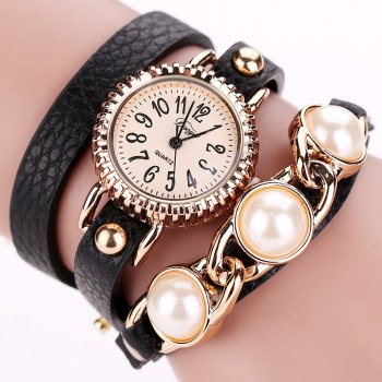 DUYA D018 Women Pearl Jewelry Watch Bracelet