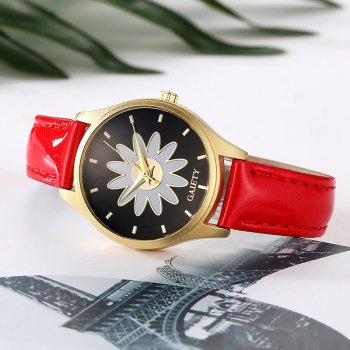 GAIETY G049 Women Casual Leather Watches - RED