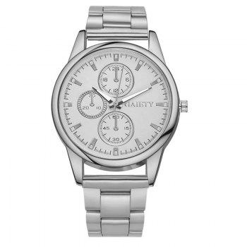 GAIETY G109 Fashion Classic Women Luxury Casual Watch Women - SILVER SILVER