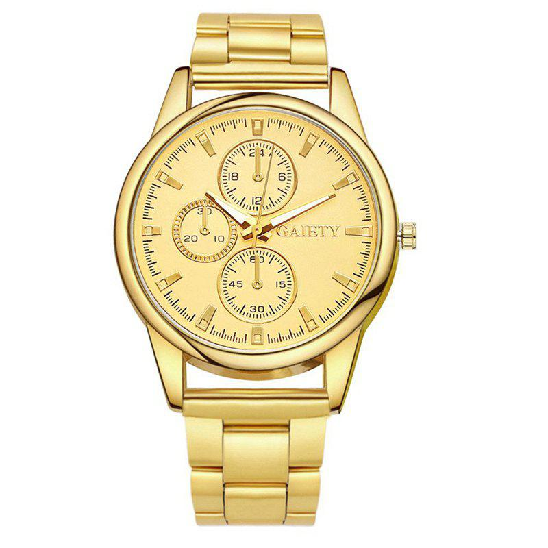 GAIETY G109 Fashion Classic Women Luxury Casual Watch Women - GOLD