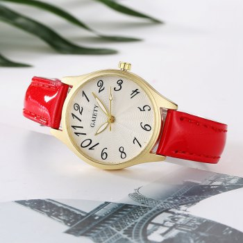 GAIETY G051 Ladies Belt Fashion Watch - RED