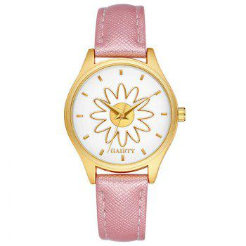 GAIETY G053 Ladies Fashion Business Watch - PINK PINK