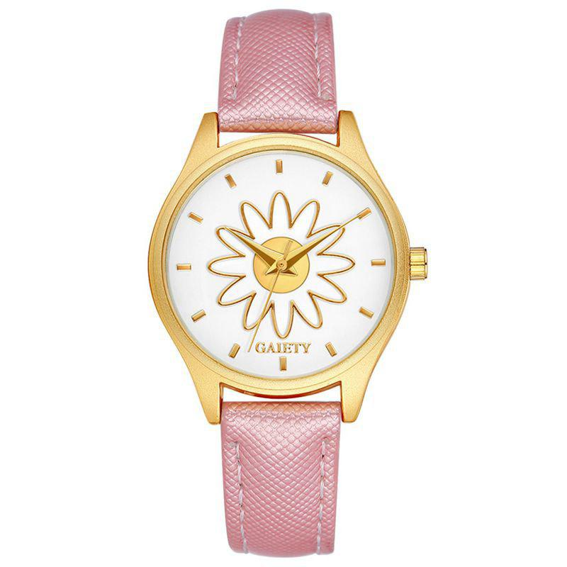 GAIETY G053 Ladies Fashion Business Watch - PINK
