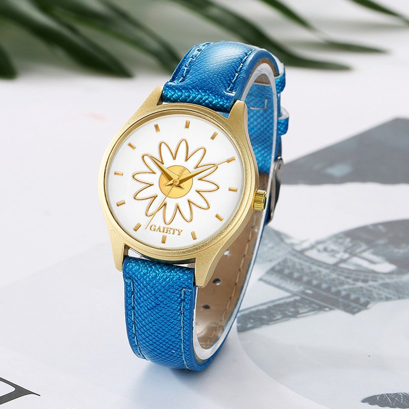 GAIETY G053 Ladies Fashion Business Watch - BLUE
