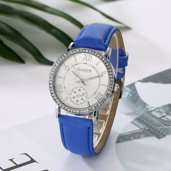 GAIETY G061 Ladies Fashion Belt Watch -  BLUE