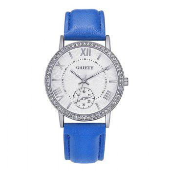 GAIETY G061 Ladies Fashion Belt Watch - BLUE BLUE
