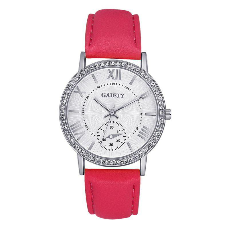 GAIETY G061 Ladies Fashion Belt Watch - ROSE