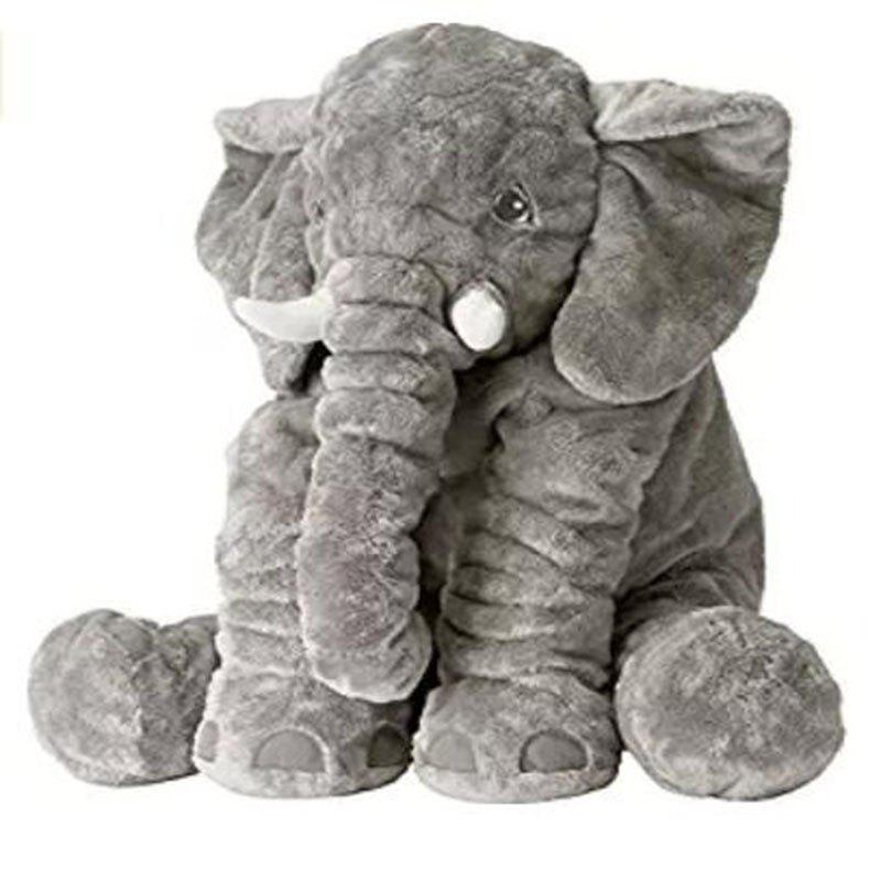 Cartoon 53cm Kids Large Plush Stuffed Elephant Toy Pillow Children Sleeping Toy 1pc 20cm my neighbor totoro plush toy kawaii stuffed animal toy anime totoro kids doll children soft cartoon toy gift