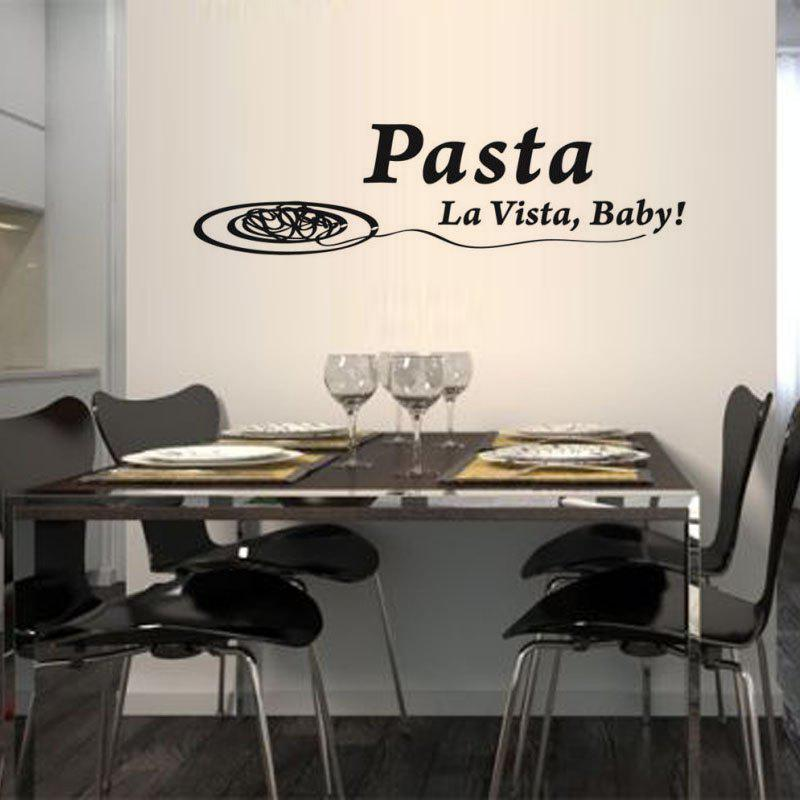 Pasta La Vista Vinyl Spanish Wall Stickers Spain Language Baby Game Wall  Decals Mural Art Home