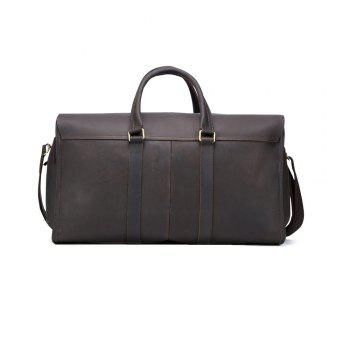Mens Brown Leather 13 Inches Laptop Briefcase Tote Bag