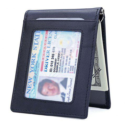 388a09e9ab3f Leather Slim RFID Front Pocket Wallet Minimalist Secure Thin Credit Card  Holder